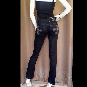 Miss Me jp5006skb black Skinny denim Jeans size 26